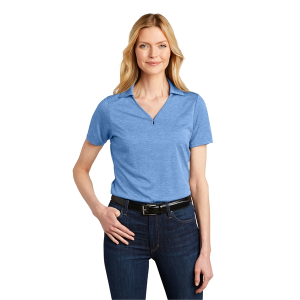 Port Authority Ladies Shadow Stripe Polo.